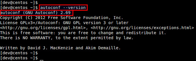 How to upgrade autoconf on CentOS - Ask Xmodulo