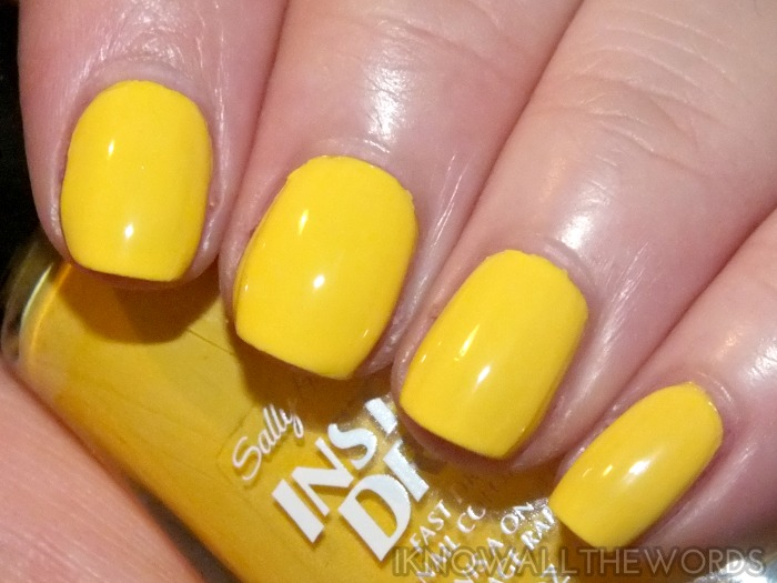 sally hansen insta-dri moroccan spice markey collection- sizzlin' saffron  (4)