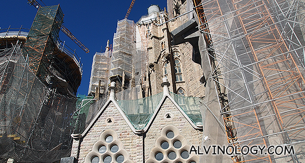 Constructions everywhere. It will look different again when you visit.