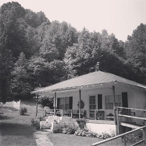 Aunt Shirley's.  War Creek.