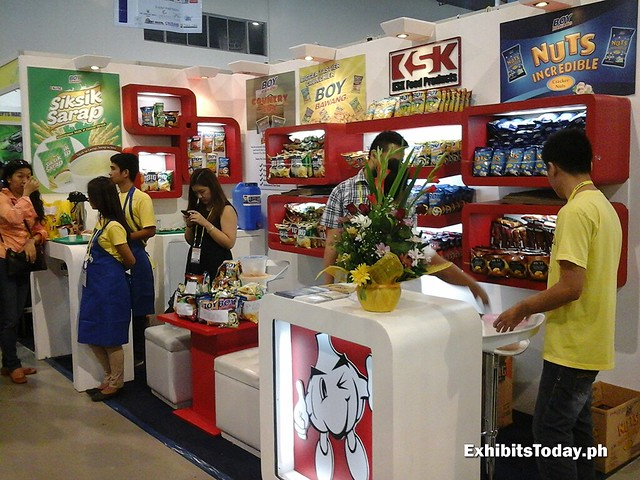 KSK Food Products Exhibit Display