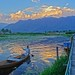 Small photo of On Dal Lake
