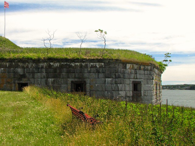 House Island Tour (2014) – Fort Scammel (1808): West Battery