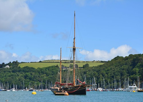 Boats in Dartmouth Harbour
