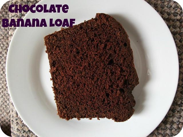 how to make chocolate banana loaf