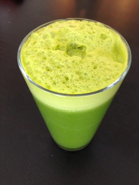 Green Citrus for breakfast. #juice #reboot