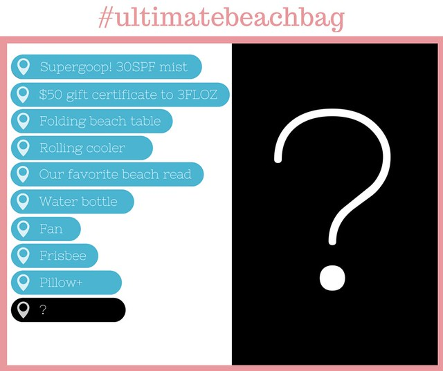 The Final Item in our Ultimate Beach Bag Giveaway…