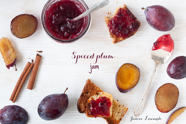 plum jam with cinnamon | Janice Lawandi @ kitchen heals soul
