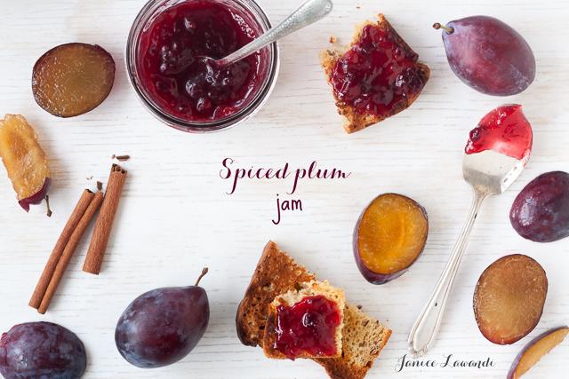 plum jam with cinnamon | Janice Lawandi @ kitchen heals soul