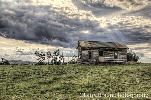 summer sky house field horizontal landscape decay farm missouri hdr 2014 marktwainnationalforest