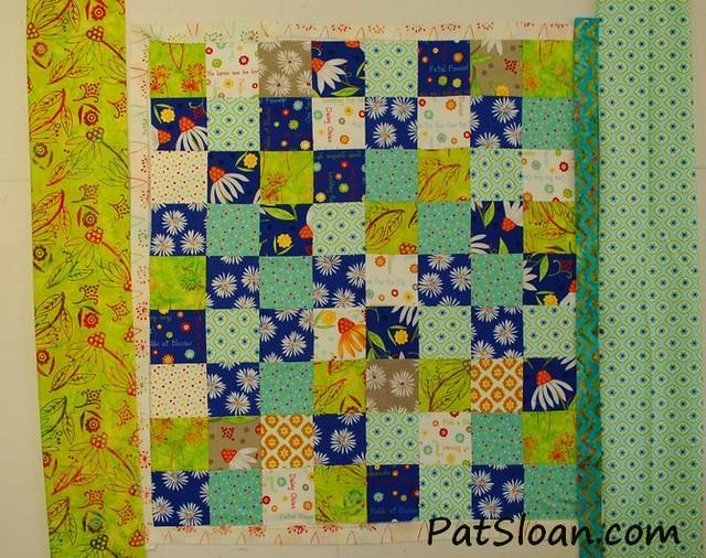 pat sloan scrap square quilt 5
