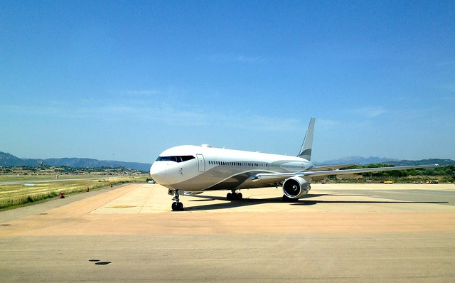 Private jet at OLB