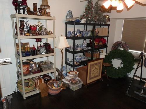 christmas craft storage junk room 3