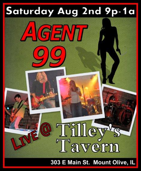Agent 99 8-2-14