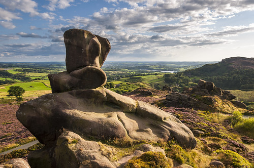 ramshaw rocks staffordshire landscape rock forms shapes nature evening england rnglish britain view the roaches theroaches ramshawrocks ruggedscenery english summer august beautiful countryside rockformation uk beautifulscenery