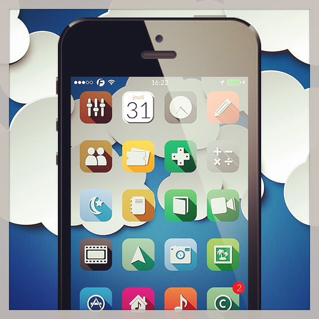 0xygen wallpapers pack available in modmyi cydia repo  #a… | Flickr