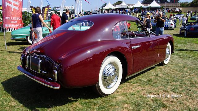 1947 Cisitalia 202 Coupe by Pinin Farina