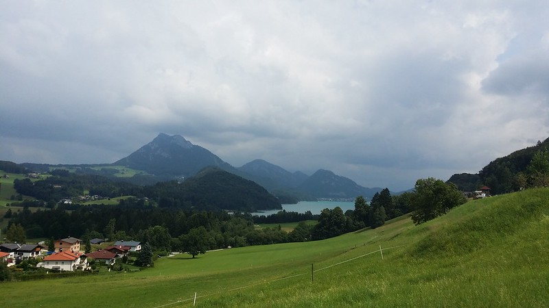 Hiking around Fuschlsee