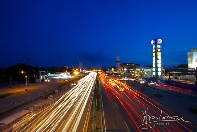 VanS3n-08092014- Long Exposure - Diversion Road, Iloilo City -0003