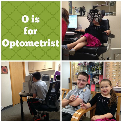 O is for Optometrist