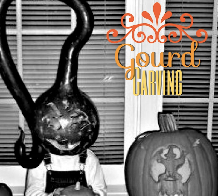 Carve a gourd for halloween for a unique twist