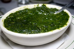 vegetable, vegetarian food, chimichurri, green sauce, food, dish, cuisine,