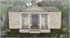 tarte. early autumn RARE autumn cottage for The Arcade September