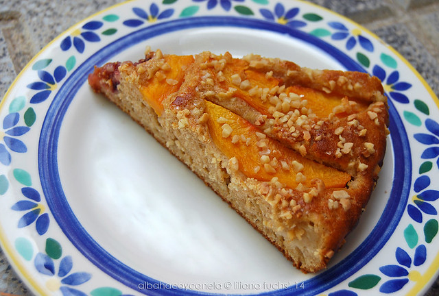 Buttermilk peach cake