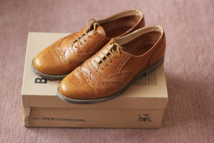Dune London Bertie Brogues