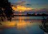 Gator Sunset - Lake Osborne - Lake Worth, Florida