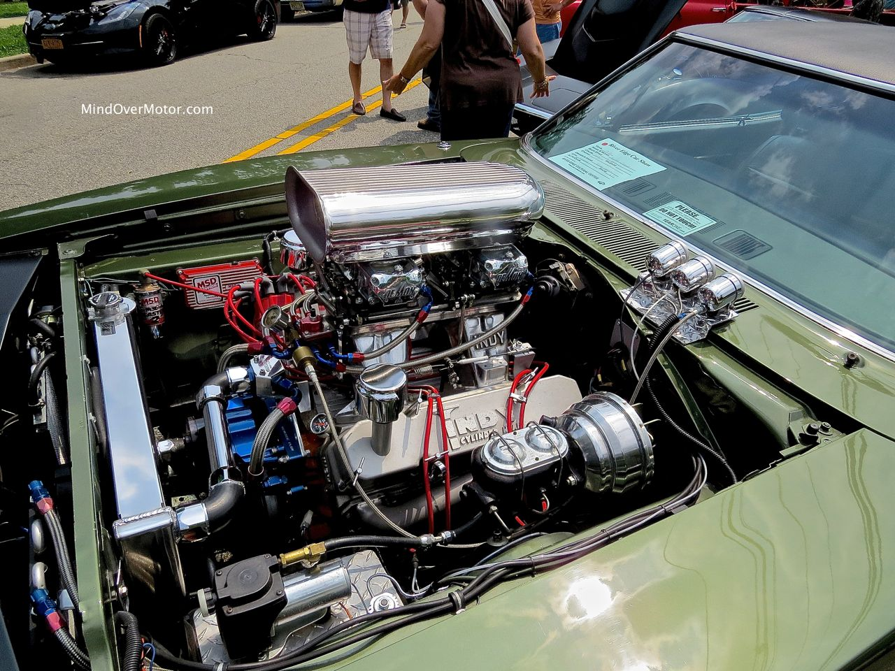 Dodgezilla Engine Bay