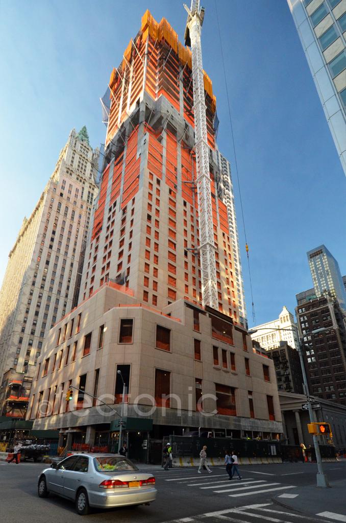 New York 30 Park Place 286m 937ft 67 Fl Com