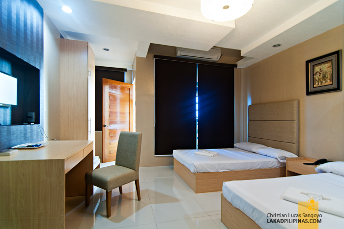 De Luxe Room at Hotel Le Duc in Dagupan City