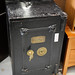 Old safe with key