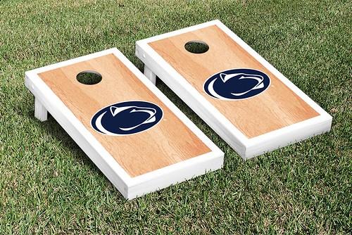 Penn State PSU Nittany Lions Cornhole Game Set Hardcourt Version