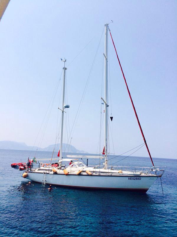 Pelagos Kiria Panagia island