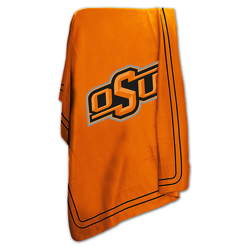Oklahoma State Cowboys NCAA Classic Fleece Throw