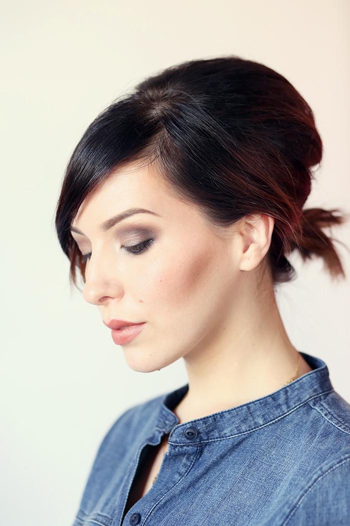 Hair How To: Volumized Ponytail Tutorial For Short Hair - Keiko Lynn