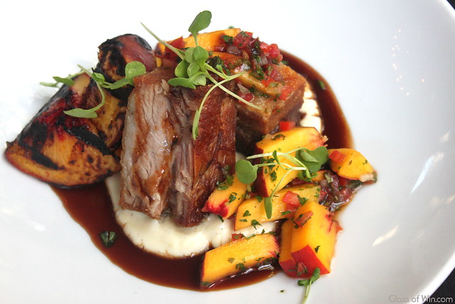 Pork, Peaches & Bourbon - The Raymond Pasadena