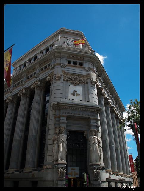 Edificio de las Cariátides de Madrid