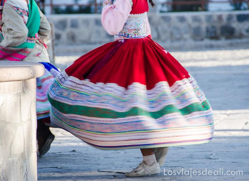 Los pueblos del valle del Colca bailes tradicionales