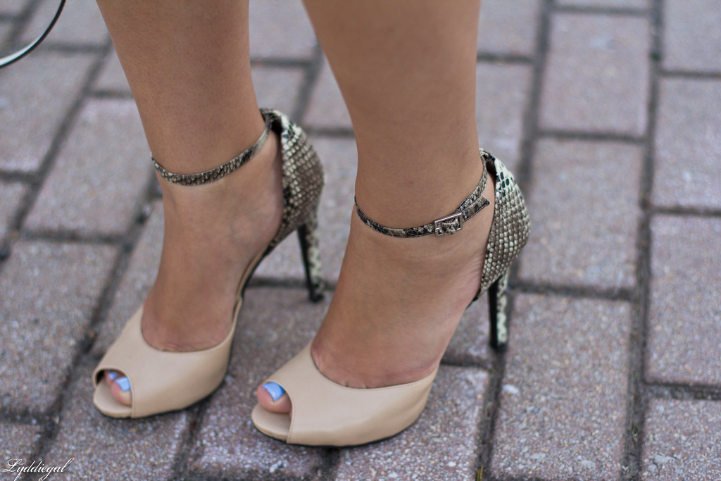 Nude and Snake Print Pumps.jpg