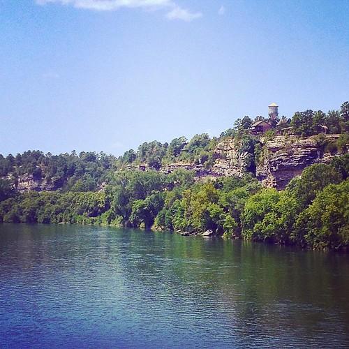 2014-08-23; White River @ Calico Rock AR #calicorockar #calico #rock #arkansas #whiteriver #white #river #calicorock