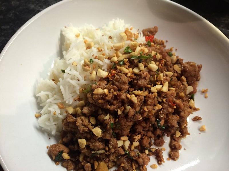 Thai Basil Fried Pork : Another shot