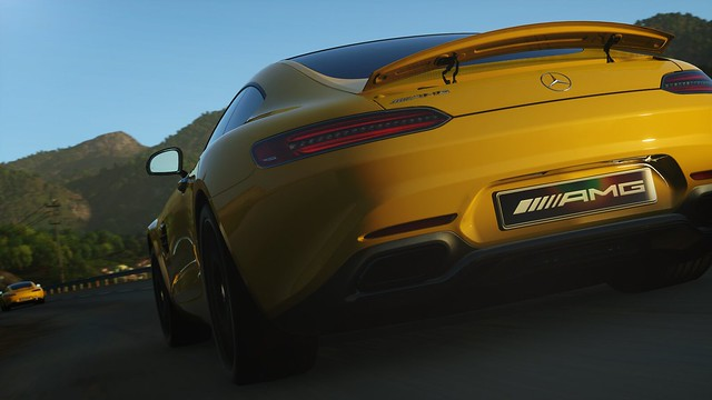 New Mercedes-AMG GT exclusively in DRIVECLUB