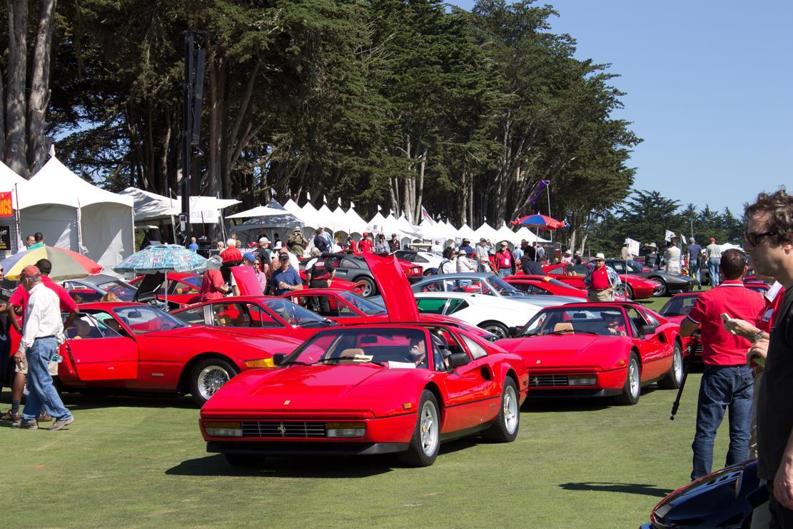 Italian Concours Ferraris