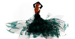 Paris METRO Couture - Take Flight (Teal) & Repose