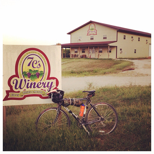 Friday and Saturday s24o bikepacking trip to 7C's Winery, up the Frisco Highline Trail.
