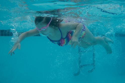 Last swimming lesson