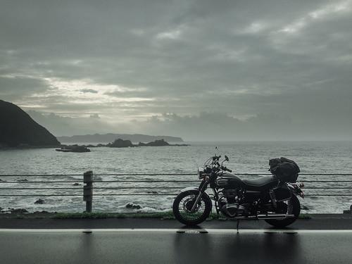 motorcycle 日本 touring kawasaki w650 高知県 土佐清水市